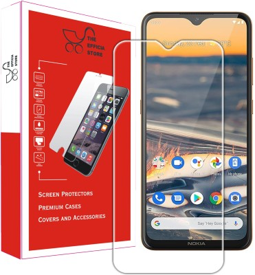Efficia Tempered Glass Guard for Nokia 5.3(Pack of 1)