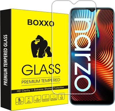 Boxxo Tempered Glass Guard for Realme Narzo 20(Pack of 1)