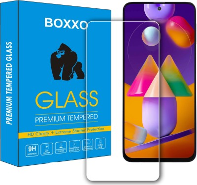 Boxxo Tempered Glass Guard for Samsung Galaxy M51(Pack of 1)