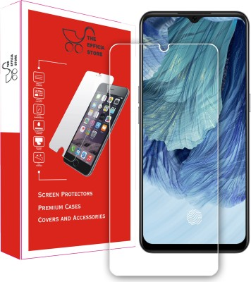 Efficia Tempered Glass Guard for Oppo F17(Pack of 1)