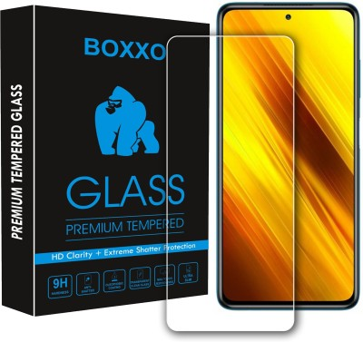 Boxxo Tempered Glass Guard for Poco X3 Pro(Pack of 1)