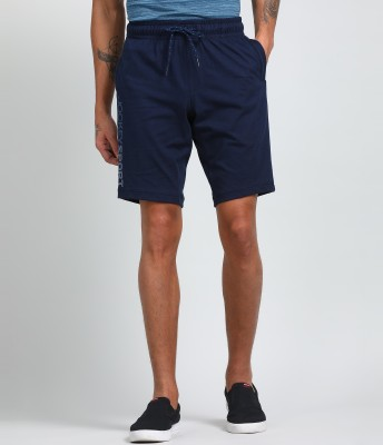 JOCKEY Solid Men Blue Sports Shorts