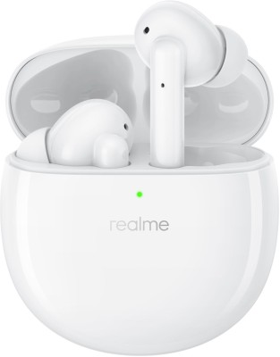 Realme Buds Air Pro Active Noise Cancellation Enabled Bluetooth Headset(White, True Wireless)