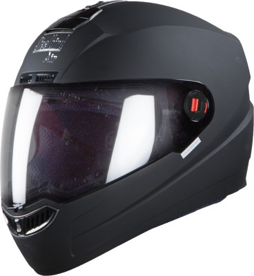 Steelbird SBA-1 Classic Motorbike Helmet(Black)