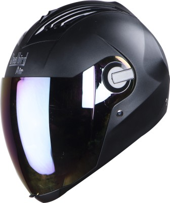 Steelbird Air SBA-2 DASHING Motorbike Helmet(Black)