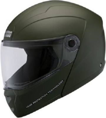 Studds SUPER Motorbike Helmet(MILITARY GREEN)