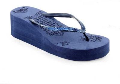 WMK Women Blue Wedges