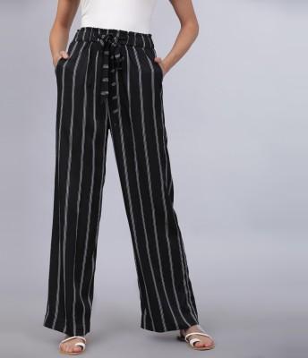Tokyo Talkies Regular Fit Women Multicolor Trousers