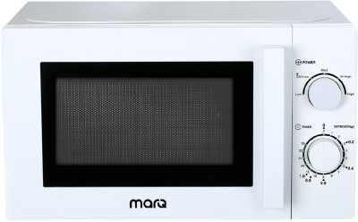MarQ By Flipkart 20 L Solo Microwave Oven(20AMWSMQW, White)