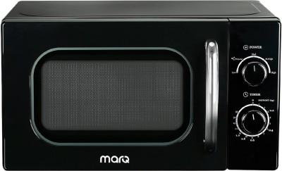 MarQ By Flipkart 20 L Solo Microwave Oven(20AMWSMQB, Black Retro)