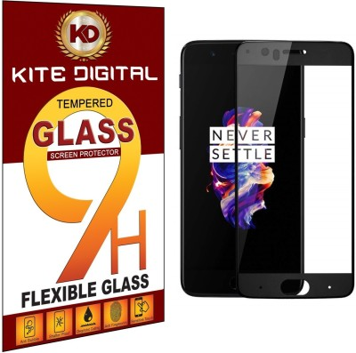 KITE DIGITAL Edge To Edge Tempered Glass for OnePlus 5(Pack of 1)