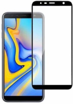 MOBIE ATTIRE Edge To Edge Tempered Glass for SAMSUNG J6 PLUS/ J6 PRIME / J6 CORE(Pack of 1)