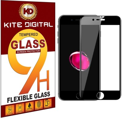 KITE DIGITAL Edge To Edge Tempered Glass for Apple iPhone 8(Pack of 1)