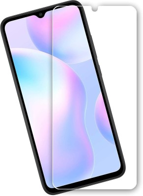 MOBIRUSH Tempered Glass Guard for Redmi 9 Prime(Pack of 1)