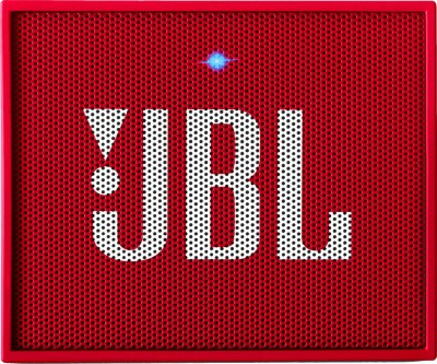 JBL Go PLUS Portable Bluetooth Speaker(Red, Mono Channel)