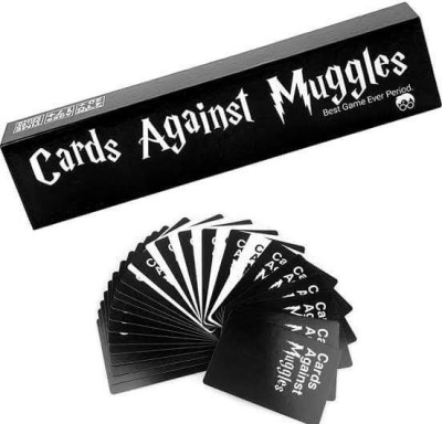 AweStuffs Cards Against Muggles - Full Set - Best Party Game(Black, White)