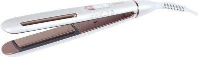 PHILIPS BHS830/00 Hair Straightener(White)