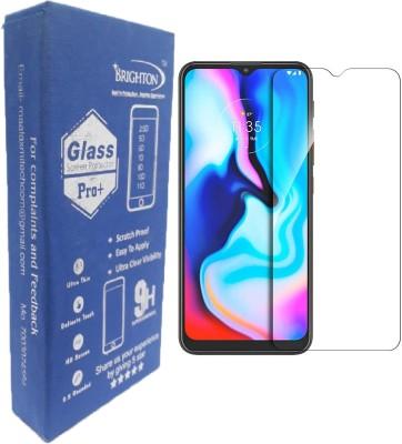 BRIGHTRON Tempered Glass Guard for Motorola Moto E7 Plus, Motorola G9, Realme 5, Realme 5i, Realme 5s, Realme C3, Realme C11, Realme C12, Realme C15, Oppo A5 2020, Oppo A9 2020, Oppo A31, Realme Narzo 10, Realme Narzo 10A, Realme Narzo 20, Realme Narzo 20A, Redmi 9A, Redmi 9i, Redmi 9, Redmi 9 Prime