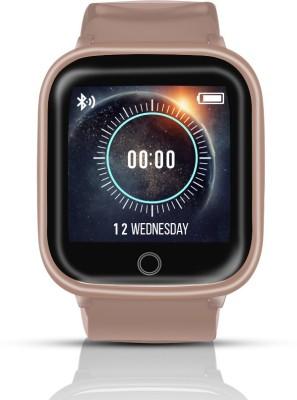 Syska SW100 Smartwatch(Gold Strap, Free Size)