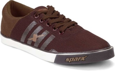 Sparx Canvas Shoes For Men Brown, Brown Sparx Casual Shoes