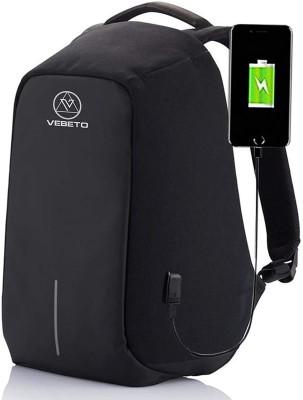 Werofy Anti Theft Backpack  Black  5.5 L Backpack Black Werofy Backpacks