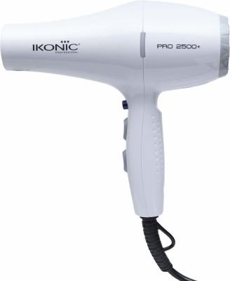 Ikonic Professional PRO 2500+ HAIR DRYER Hair Dryer(2500 W, White)