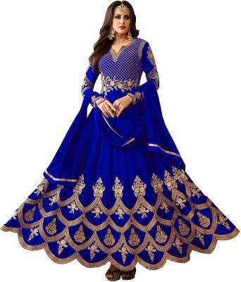 Kedar Fab Anarkali Gown(Blue)