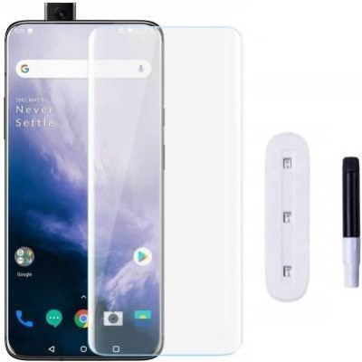 FIRST IMPRESSION Edge To Edge Tempered Glass for OnePlus 7t Pro(Pack of 1)