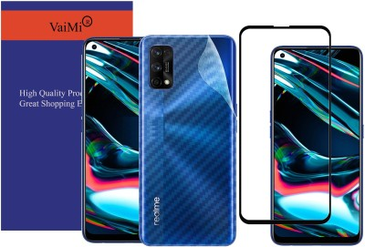 VaiMi Front and Back Tempered Glass for Realme 7 Pro(Pack of 2)