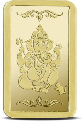 jplonkar Gold coin 1 gm Ganesh 24  995  K 1 g Gold Bar jplonkar Coins   Bars
