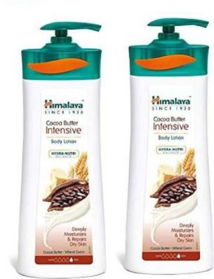 HIMALAYA cocoa butter intensive Body Lotion 400ml X 2(800 ml)