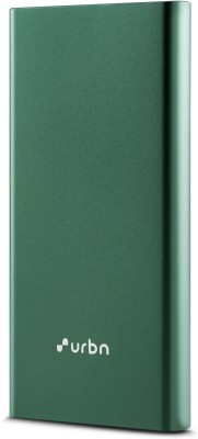 URBN 10000 mAh Power Bank (Power Delivery 3.0, Quick Charge 3.0, 18 W)(Green, Lithium Polymer)