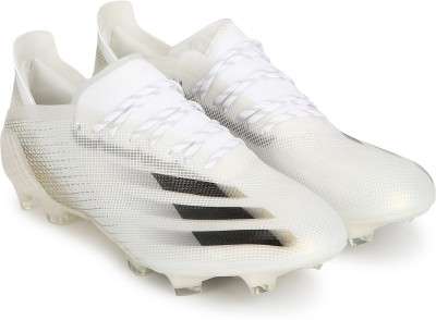 ADIDAS X GHOSTED.1 FG Football Shoes For Men White ADIDAS Sports Shoes