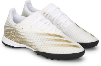 ADIDAS X GHOSTED.3 TF Football Shoes For Men White ADIDAS Sports Shoes