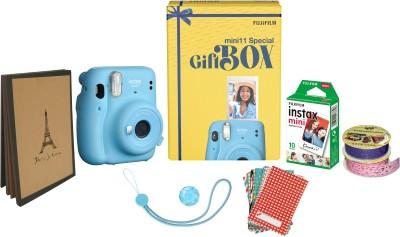 FUJIFILM Instax Mini 11 Special Gift Box Instant Camera(Blue)