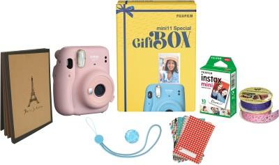 FUJIFILM Instax Mini 11 Special Gift Box Instant Camera(Pink)
