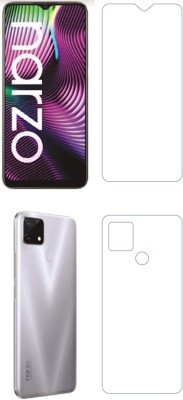 FIRST IMPRESSION Front and Back Tempered Glass for Realme Narzo 20(Pack of 2)