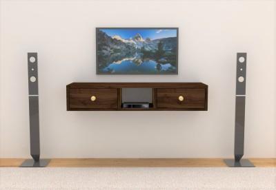 Flipkart Perfect Homes Solid Wood TV Entertainment Unit(Finish Color - WALNUT)