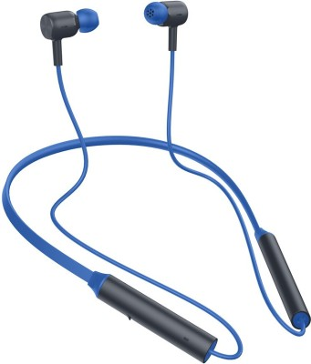 Redmi SonicBass Neckband Bluetooth Headset(Blue, In the Ear)