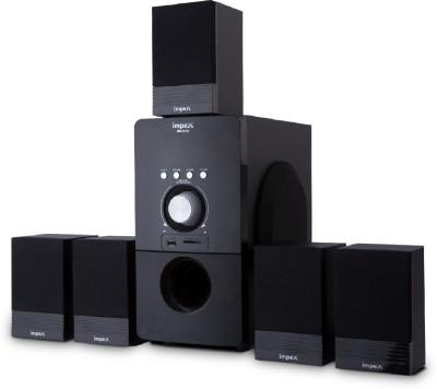 Impex Multimedia 5.1 (BRAVO) Bluetooth Home Theatre(Black, 5.1 Channel)