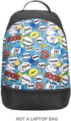 Bewakoof Backpack 2.5 L Backpack Black Bewakoof Backpack Handbags