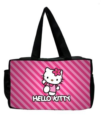 MY FAV Hello Kitty Diaper bag Waterproof Multipurpose Bag Pink, 8 L MY FAV Luggage   Travel