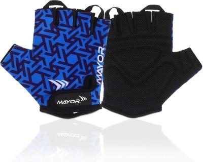 Mayor Venus Gym Gloves Gym & Fitness Gloves(Blue/Black)