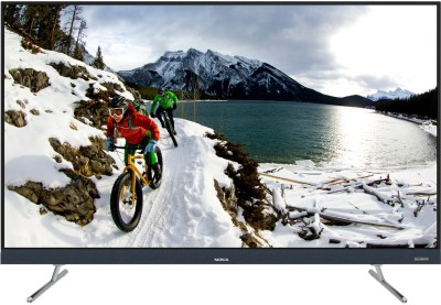 Nokia 139cm (55 inch) Ultra HD (4K) LED Smart Android TV with Sound by Onkyo(55TAUHDN)
