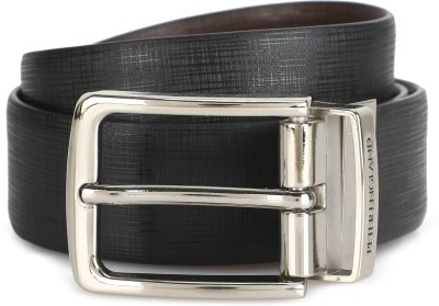 Peter England Men Formal Black, Brown Artificial Leather Reversible Belt