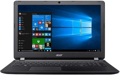 Acer One 14 Pentium Dual Core - (4 GB/1 TB HDD/Windows 10 Home) Z2-485 Thin and Light Laptop(14 inch, Black,...