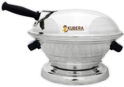 kubera KUBERA Aluminum Tandoor Bati Maker Baking Oven, 25 x 25 x 35 cm, 1 Piece, Silver Gas Tandoor, Barbecue...