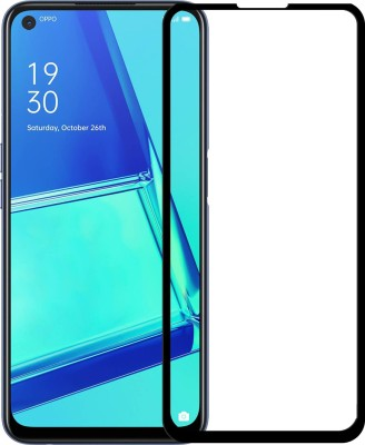 Karpine Edge To Edge Tempered Glass for Oppo A53(Pack of 1)