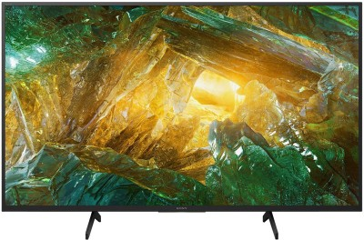 Sony 123cm (49 inch) Ultra HD (4K) LED Smart Android TV(KD-49X8000H)