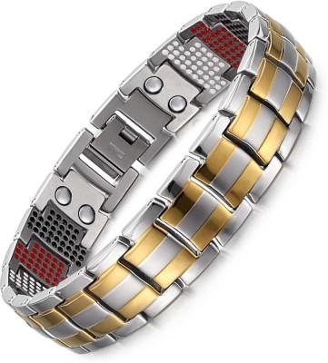 Jewelgenics Stainless Steel Titanium Bracelet